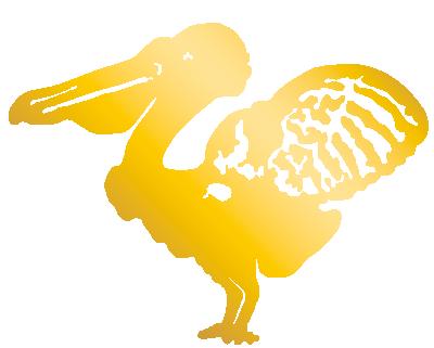 Logo van de Pelikaan